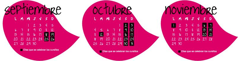 Calendario de los cursos de perfeccionamiento de surf OTOÑO 2010