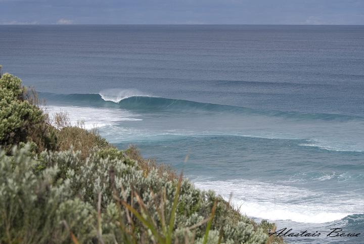 Ola solitaria en Australia. Foto Alastair www.abfotoblog.com