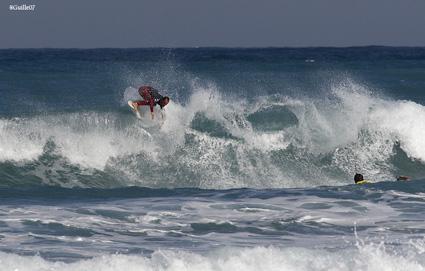 Fernando Ferrao, Open de España de Surf de Caravia 2007, 7º clasificado.