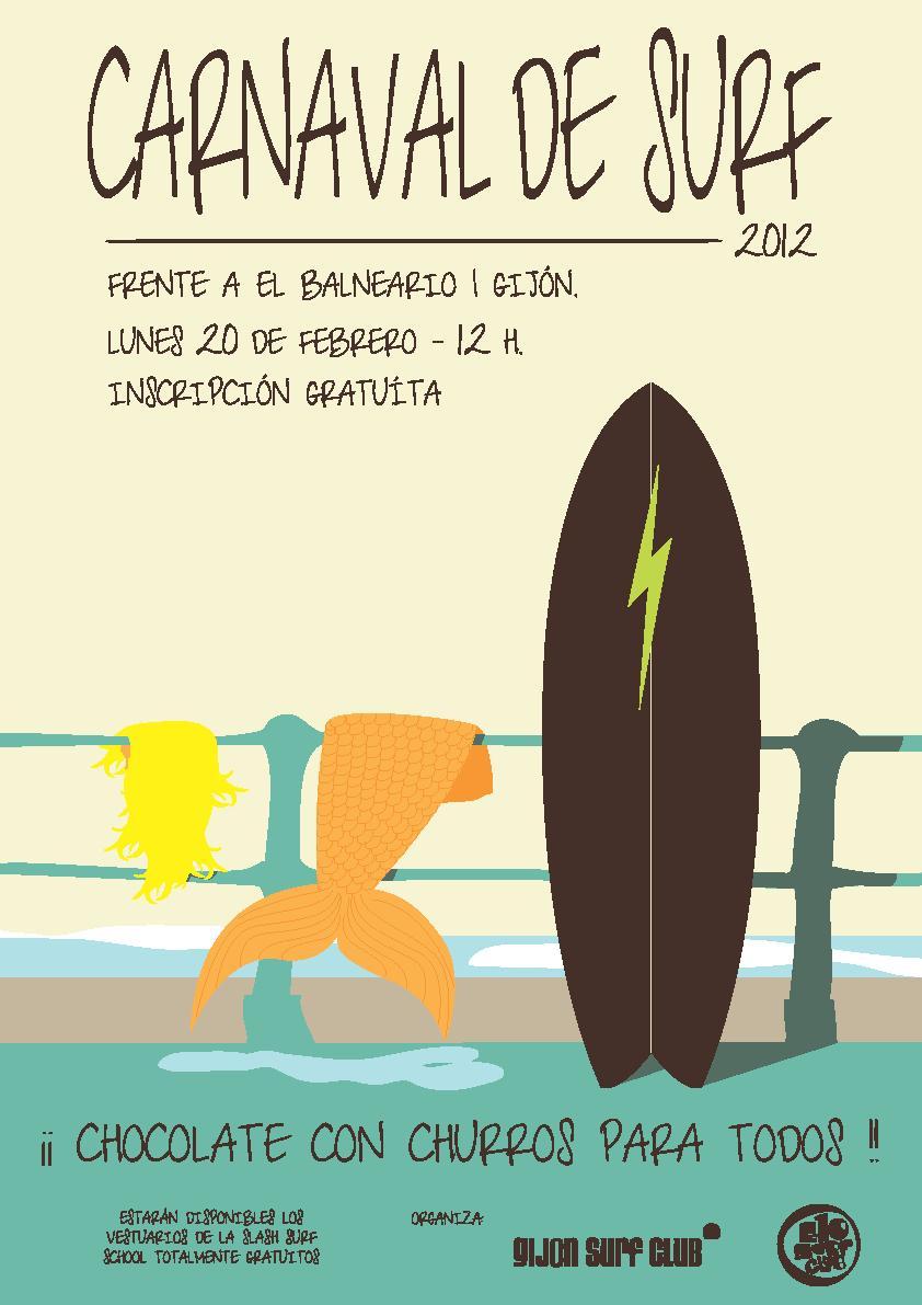 Cartel del Carnaval de Surf 2012