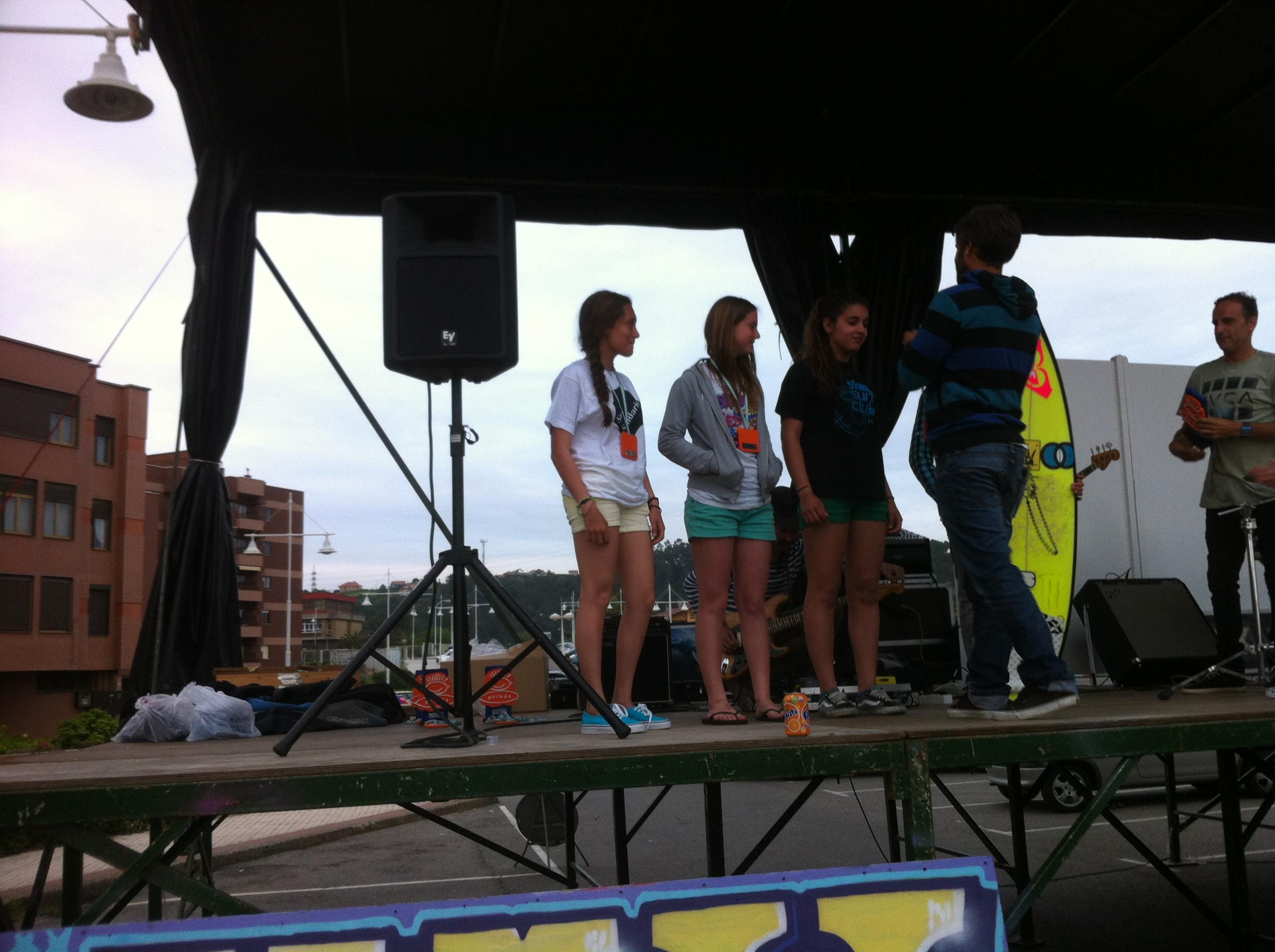 Marta tercera clasificada de surf