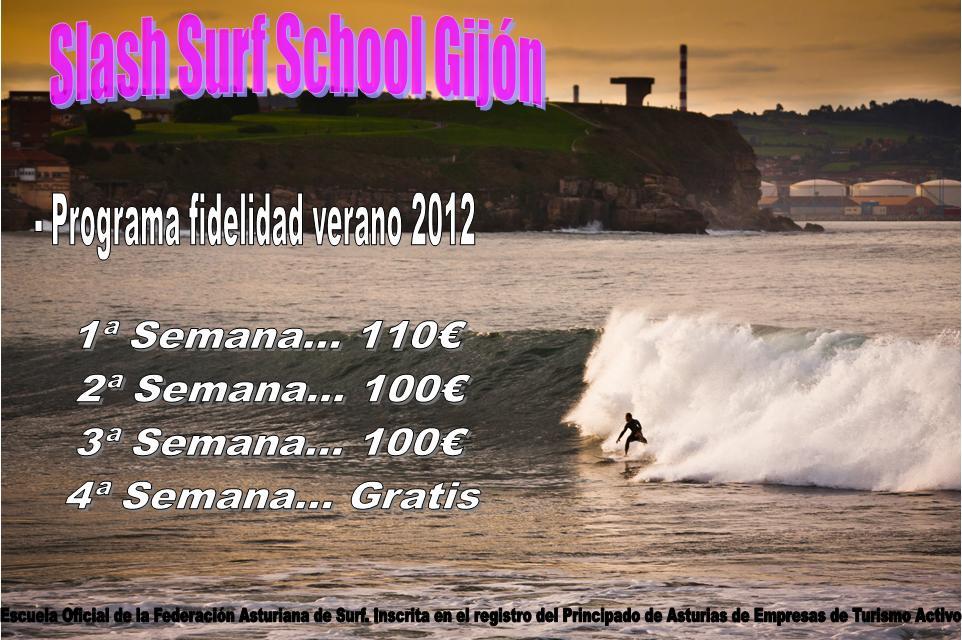 Tarifas de surf especiales para alumnos entusiastas.