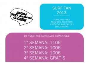 SURF FAN 2013